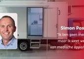 Simon Postma van Hollander Techniek helpt tijdelijk Hospitainer tijdens coronacrisis